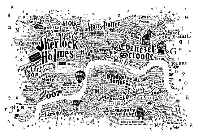 Literary London Central White 21x30_640