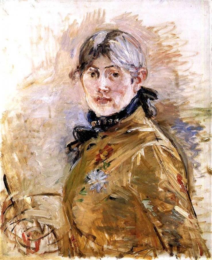 Morisot_autoportrait