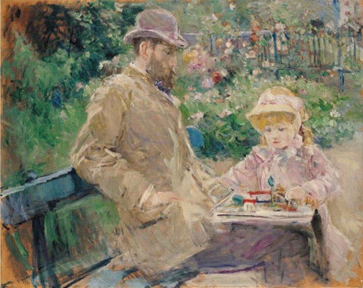 Morisot_Manetetsafille