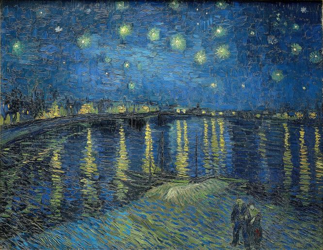 starry night 1888