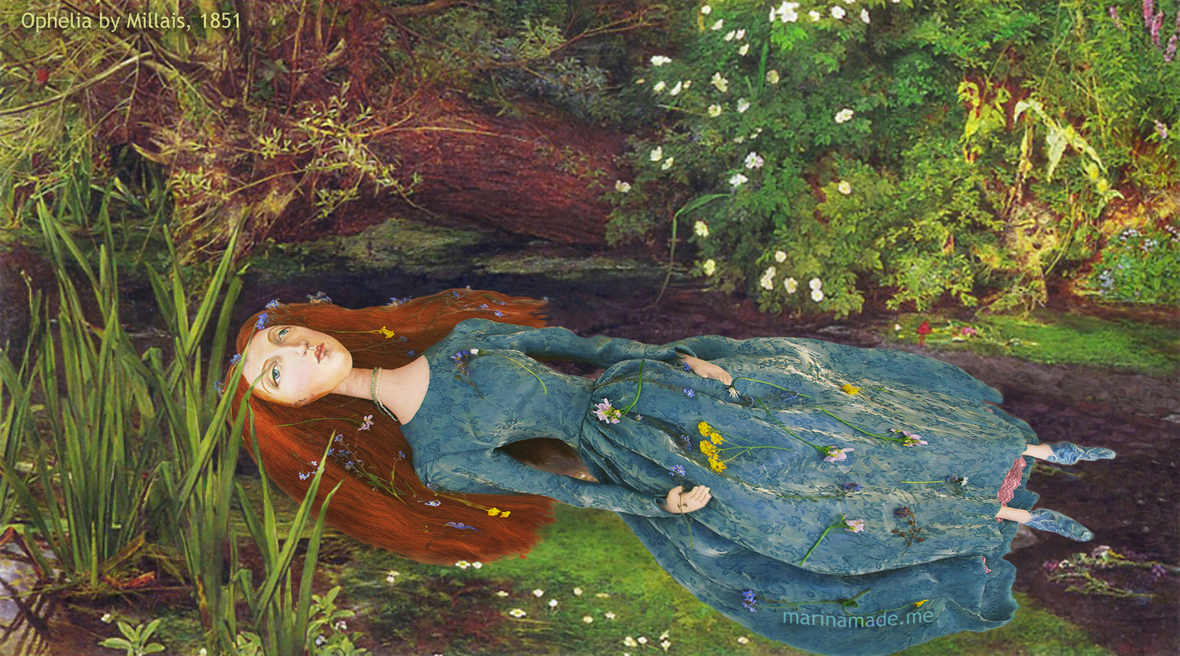 lizzie-muse-as-ophelia-wmby-millais-1851